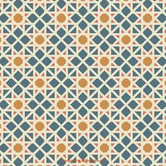 Artistic arabic mosaic
