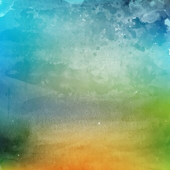 Artistic background with watercolor texture