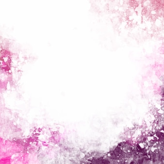 Artistic pink watercolor background