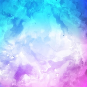 Artistic watercolor texture, purple and blue color