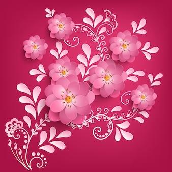 Artwork beautiful bloom backdrop creative