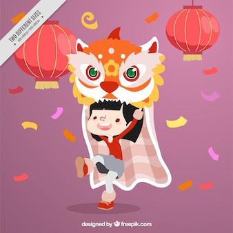 Asiatic celebration background design
