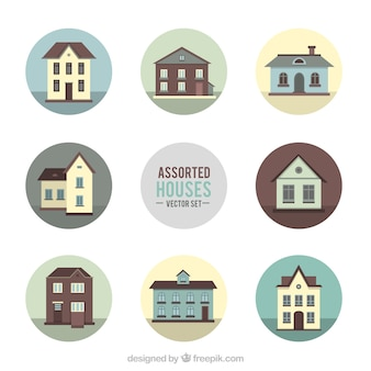Assorted houses