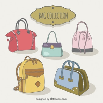 Assortment of beautiful bags