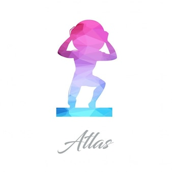 Atlas, polygonal shapes