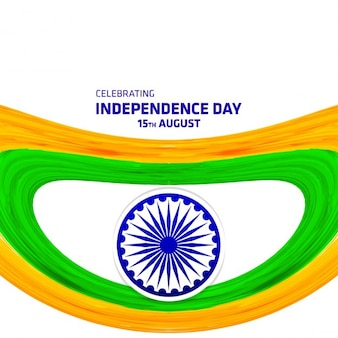 August 15 indian independence day festive illustration