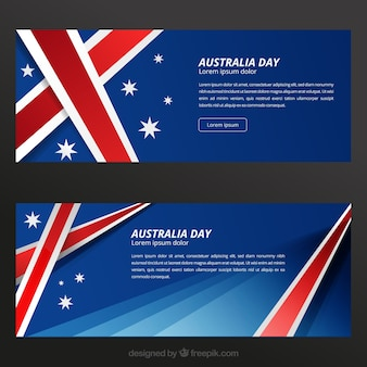 Australia Day Banners Template