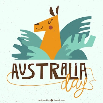 Australia day illustration