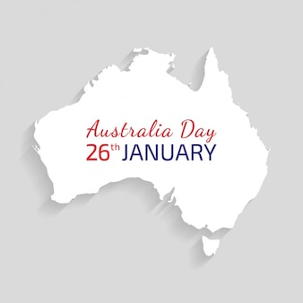 Australia's day background design