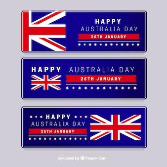 Australian day banners
