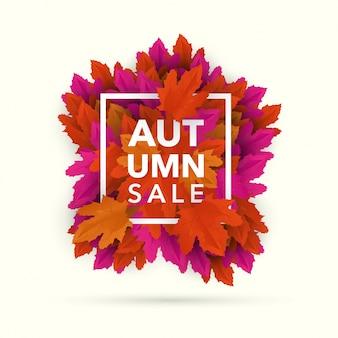 Autumn Discount Banner
