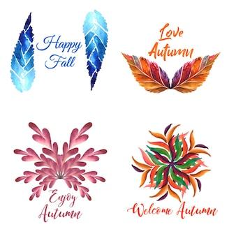 秋のロゴコレクション