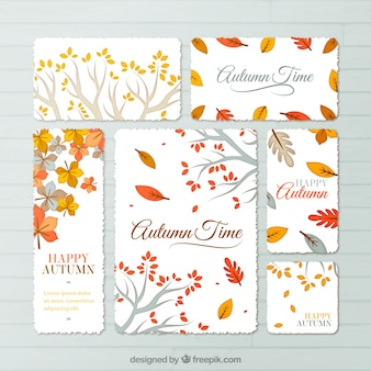Autumn time stationery