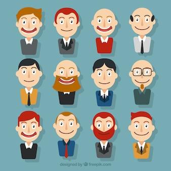 Avatars businessmen