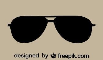 Aviator sunglasses icon