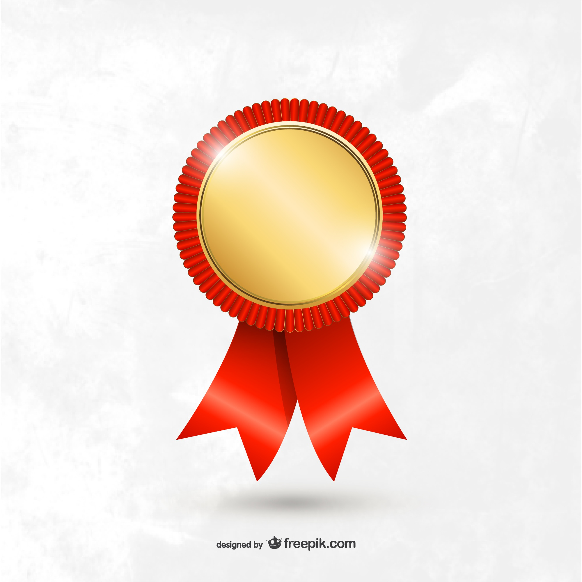 Award medal template