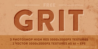 Awesome gritty textures collection