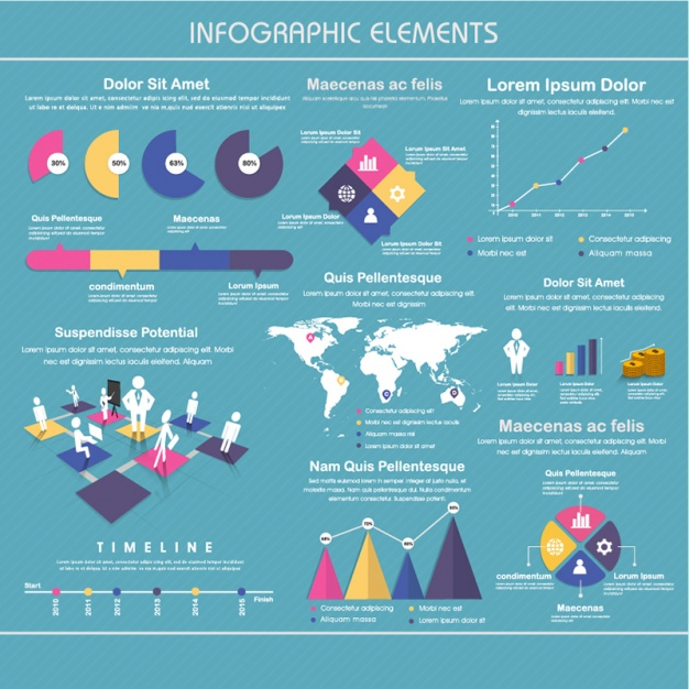Awesome infographic element set