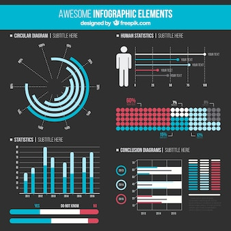 Awesome infographic elements