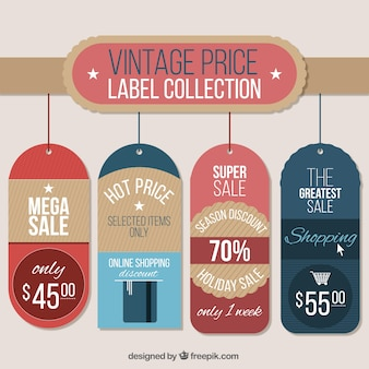Awesome labels with great sales