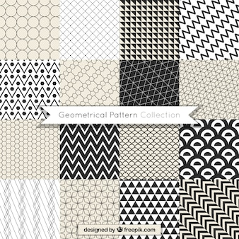 Awesome pack of geometric patterns
