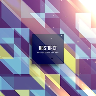 Awesome retro style triangles background
