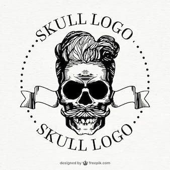 Awesome skull logo