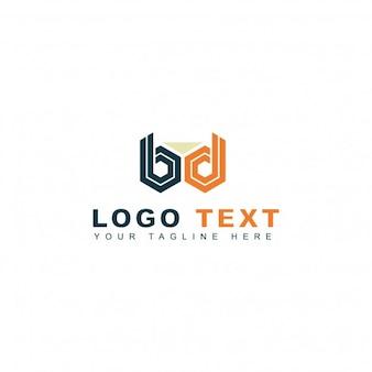 B文字のロゴ