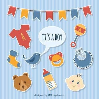 Baby boy stickers
