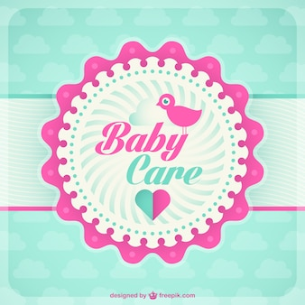 Baby Card template