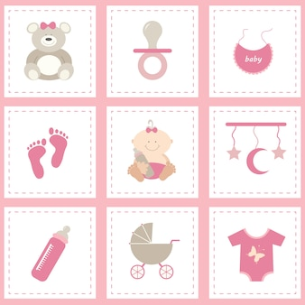 Baby's elements collection