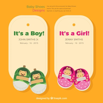 baby shoes labels