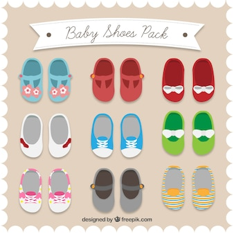 Baby shoes pack