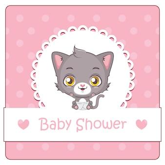 Baby shower background design