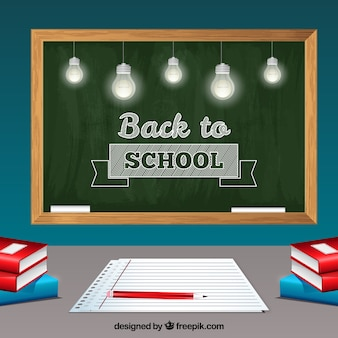 学校デザインの黒板スタイルに戻る