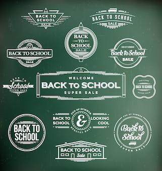 Back to school designs