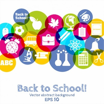 Back to School icon Background