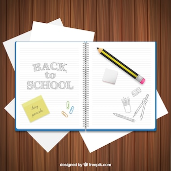 Back to school notebook