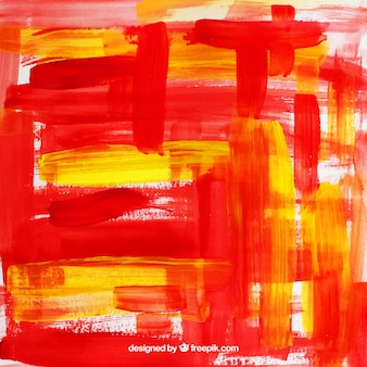Background artwork with paint brush strokes