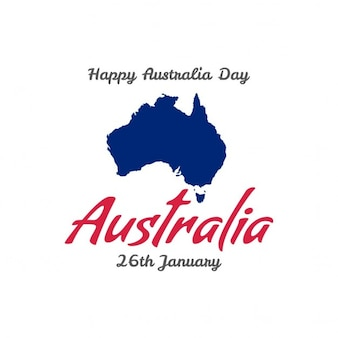 Background for australia day