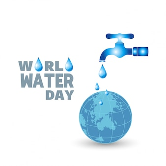 Background for the world water day