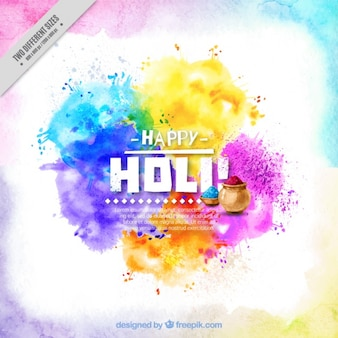 Background holi colorful watercolor abstract