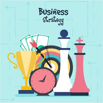Background of business elements for success
