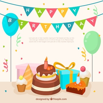 Happy birthday vectors photos and psd files free download for 6 month birthday decorations