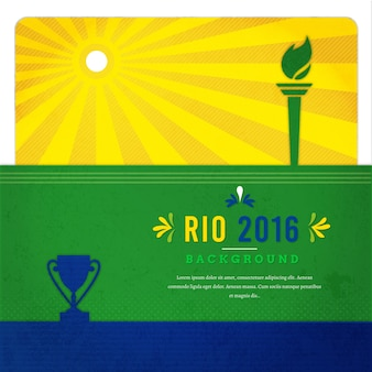 Background of olympic games in rio