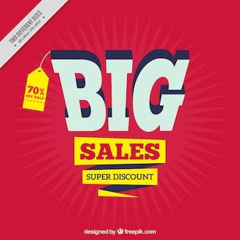 Background of super sales