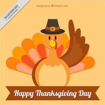 Background of thanksgiving nice turkey