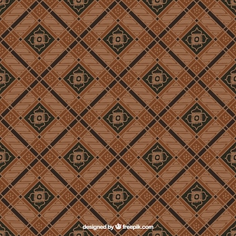 Background of vintage geometric shapes