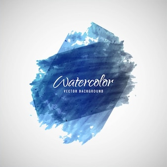 Background of watercolor brushstrokes
