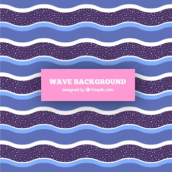 Background of waves with different colors